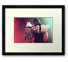 Daryl - Wing Studies Framed Print