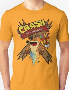 Old Timey Crash Bandicoot T-Shirt