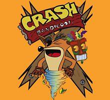 Old Timey Crash Bandicoot Unisex T-Shirt