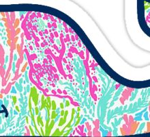 Vineyard Vines Lilly Pulitzer #1 Sticker