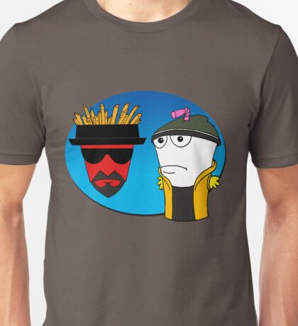 Aqua Teen Breaking Bad Unisex T-Shirt