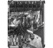A smithy's work place iPad Case/Skin