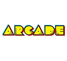 Arcade Retro Photographic Print