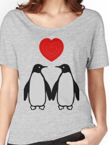 Penguins in love Women's Relaxed Fit T-Shirt