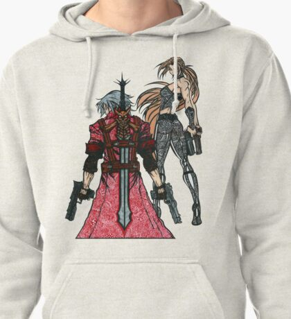 Devil May Cry Doodle #2  Pullover Hoodie