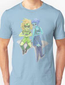 Peridot And Lapis Playing Pokemon Go Unisex T-Shirt