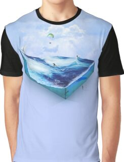 Water Funscape Graphic T-Shirt