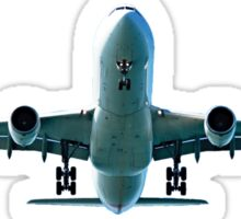 Exhilarating Aircraft. as Prints, Wall Art, T-shirts. greeting cards etc. Sticker