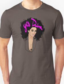 Yes Diva! Michelle Visage Unisex T-Shirt