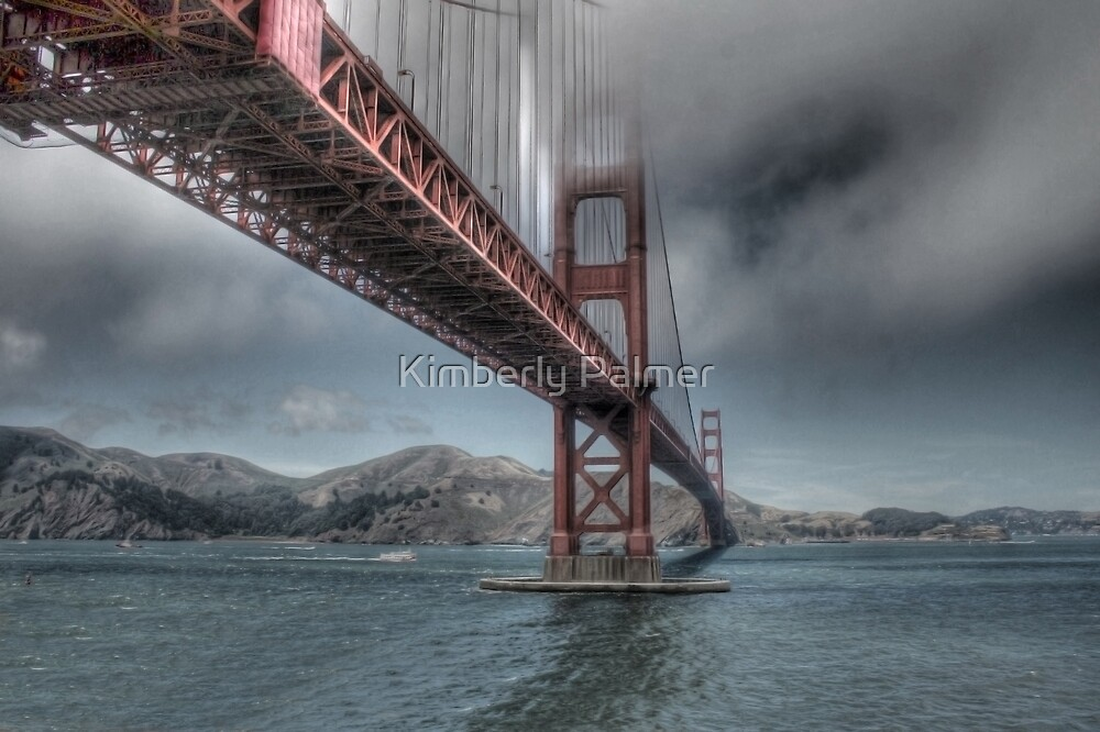 Golden Gate Bridge (Landscape) by Kimberly Palmer
