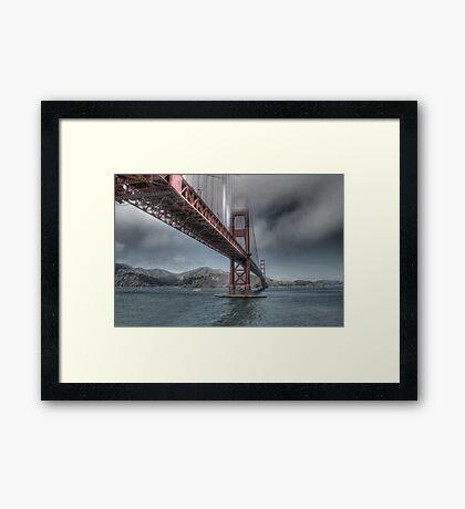 Golden Gate Bridge (Landscape) Framed Print