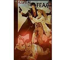 Sherlolly - The Hospital of Fear Photographic Print