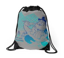 Figment and Dreamfinder (grey) Drawstring Bag