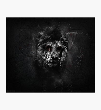 The Undead King Photographic Print