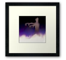 Zombie in the Mist Framed Print