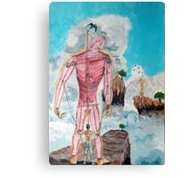 Fragiles Colossus Canvas Print