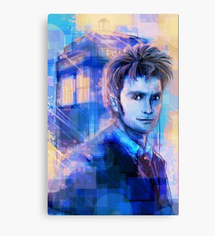 10 - Blue Canvas Print
