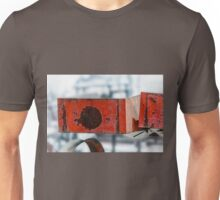 Rusty Red Boxes Unisex T-Shirt