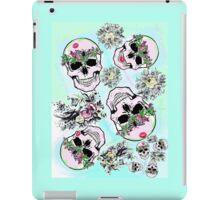 Pretty tough skulls iPad Case/Skin