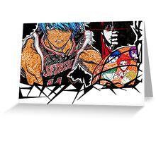 kuroko no basket doodle Greeting Card