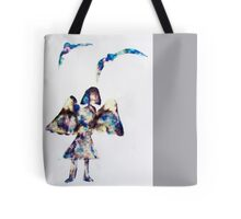 everyone has an angel Tote Bag