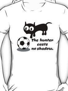Cat Hunting a Ball T-Shirt