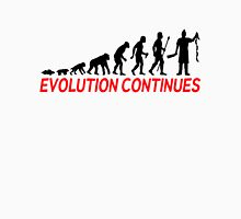 Funny Butcher Evolution Continues  Unisex T-Shirt