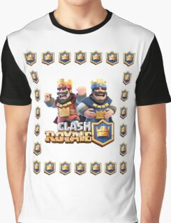 The King Clash royale Graphic T-Shirt