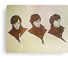 Sherlock - Faces Canvas Print