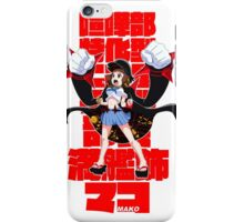 3 star mako iPhone Case/Skin