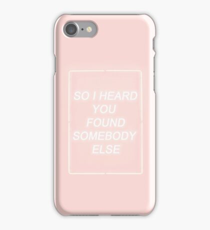 So I heard.. iPhone Case/Skin