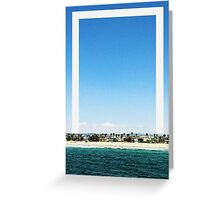 Venice Beach Squared Greeting Card