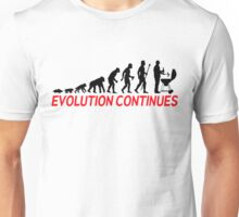 Funny BBQ Evolution Of Man And Barbecue  Unisex T-Shirt