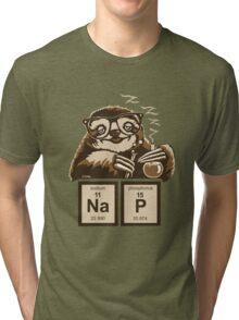 Chemistry sloth discovered nap Tri-blend T-Shirt