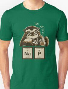 Chemistry sloth discovered nap Unisex T-Shirt