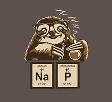 Chemistry sloth discovered nap Unisex T-Shirt