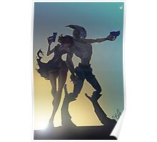Garrus and Shep Poster