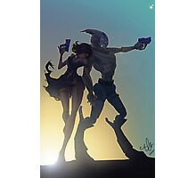 Garrus and Shep Photographic Print