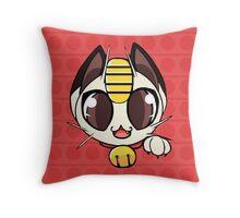 Meowth Throw Pillow