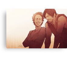 Caryl - Emotion Challenge Canvas Print