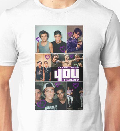 Dolan twins 4OU collage Unisex T-Shirt
