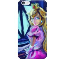 Peach princess iPhone Case/Skin