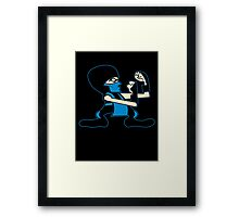 FIGHT! (sub-zero) Framed Print