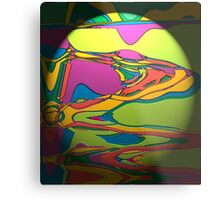 Coloured Liquid Metal Print