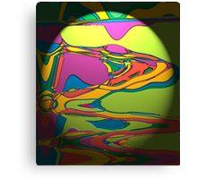 Coloured Liquid Canvas Print