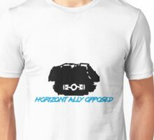 Horizontally Opposed Flat 4 Cylinder Engine  Unisex T-Shirt