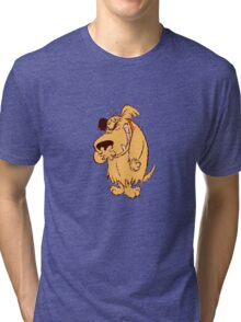 Dick Dastardly and Muttley Tri-blend T-Shirt