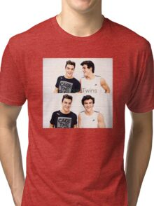 Grayson and Ethan happy <3 Tri-blend T-Shirt