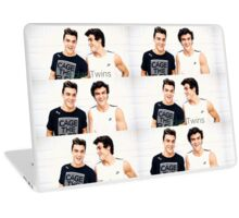Grayson and Ethan happy <3 Laptop Skin