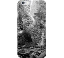 At the base of the Falls iPhone Case/Skin